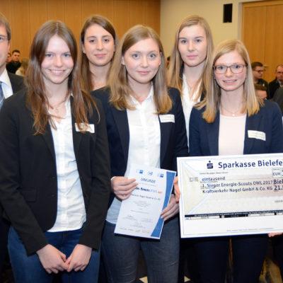 Platz 1: Energie-Scouts von der Kraftverkehr Nagel GmbH & Co. KG